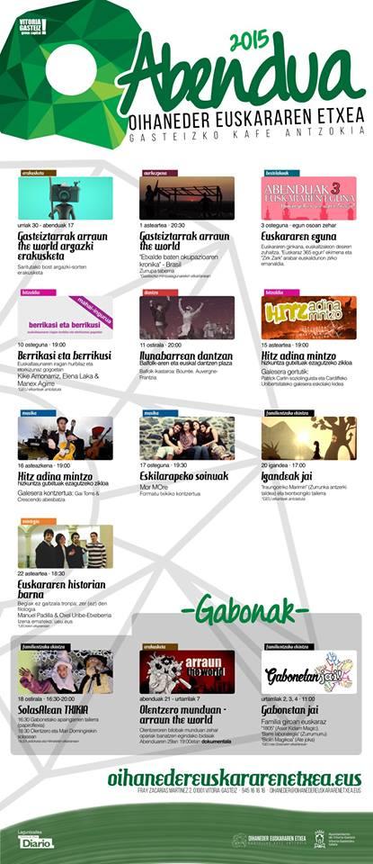 Agenda diciembre a golpe de vista gasteizko kafe antzokia for Kafe antzokia agenda